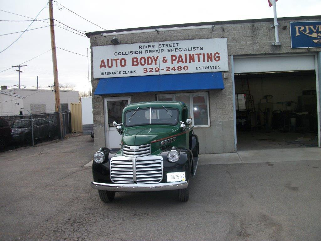 rust repair, panel replacements, body and paint